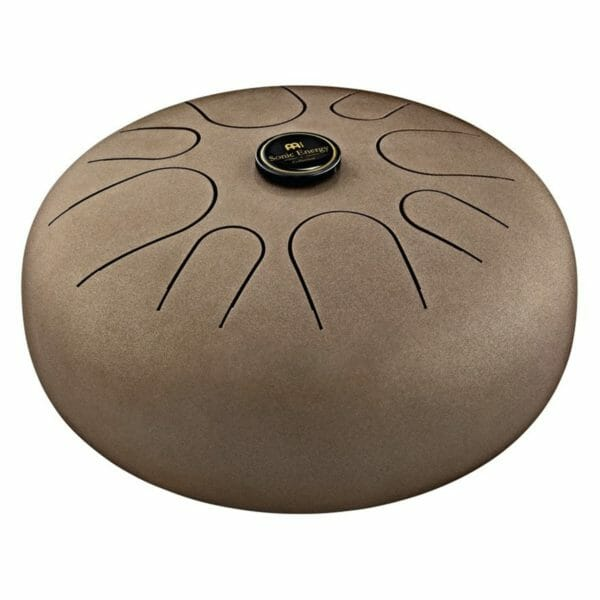 Meinl Sonic Energy Steel Tongue Drum A Akebono, Vintage Brown
