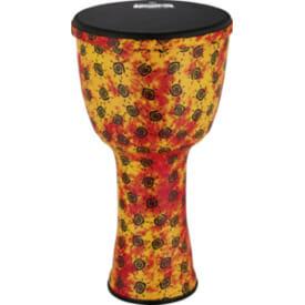 "Meinl Viva Rhythm Community Djembe Soft Sound Series 14"", Pre-Tuned Napa Head, Sunshine Finish"