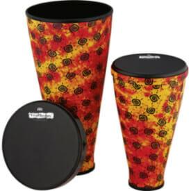 Meinl Viva Rhythm Stack Drum Soft Sound Series Set, Pre-Tuned Napa Head, Sunshine Finish