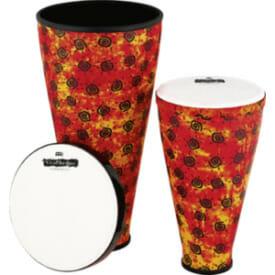 Meinl Viva Rhythm Stack Drum Boom Series Set, Pre-Tuned Synthetic Head, Sunshine Finish
