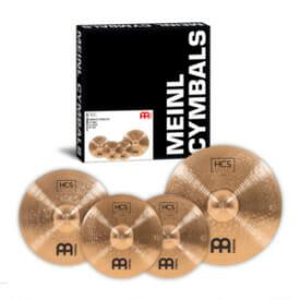 Meinl Bronze Complete HCS Cymbal Set