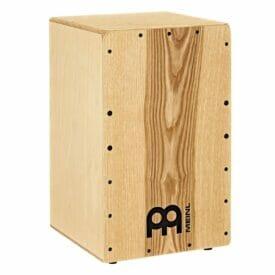 "Meinl 11 3/4"" X 18"" Snarecraft Cajon, Heart Ash Frontplate"