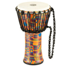 "Meinl Mechanical Tuned Travel Series Djembe 14"", Pharaoh'S Script, Synthetic Head"