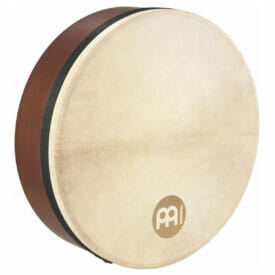 "Meinl 14"" Bendir Frame Drum, African Brown, Goat Skin"