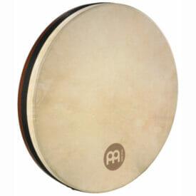 "Meinl 16"" Bendir Frame Drum, African Brown, Goat Skin"