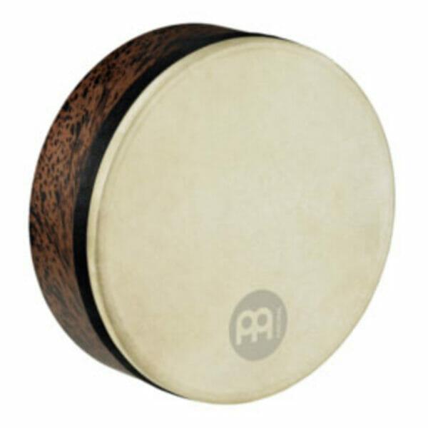 "Meinl Frame Drums - 12"" Goat Skin Deep Shell Tars - Brown Burl"