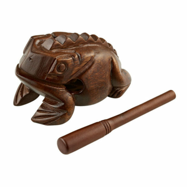 Meinl Wooden Frog, Large, Brown