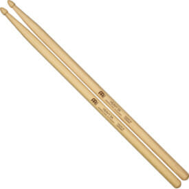 Meinl Heavy 5A, Drumstick Hickory, Acorn Wood Tip, Pair
