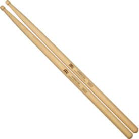 Meinl Hybrid 5B, Drumstick Hickory, Hybrid Wood Tip, Pair
