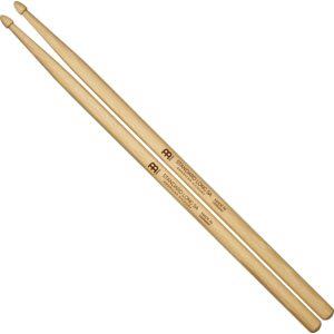 Meinl Standard Long 5A, Drumstick Hickory, Acorn Wood Tip, Pair