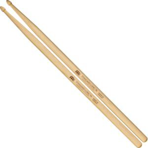 Meinl Standard Long 7A, Drumstick Hickory, Acorn Wood Tip, Pair