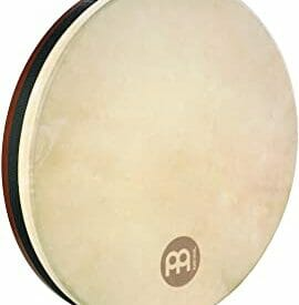 "Meinl 16"" Tar Frame Drum, African Brown, True Feel Headed"