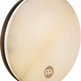 "Meinl 18"" Tar Frame Drum, African Brown, True Feel Headed"