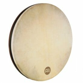 "Meinl 22"" Tar Frame Drum, African Brown, True Feel Headed"
