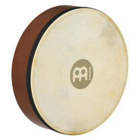 "Meinl 10"" Hand Drum, African Brown, True Feel Headed"