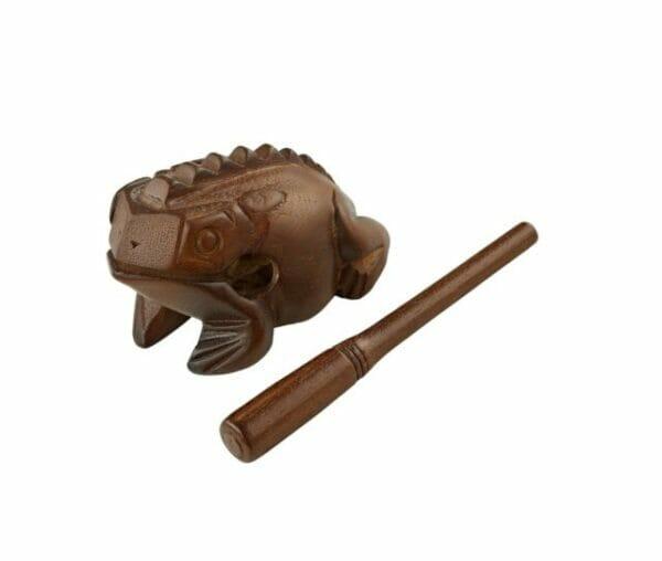 Meinl Wooden Frog, Medium, Brown