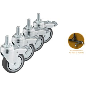 Meinl Sonic Energy Wheels For Gong Stands