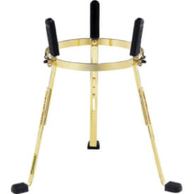 "Meinl 11 3/4"" Stand For Mec Congas, Gold Tone"