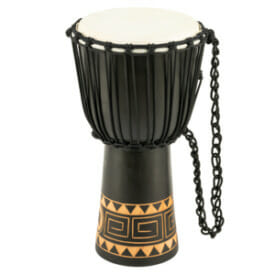 "Meinl Rope Tuned Headliner Series Wood Djembe 10"" Congo Series"