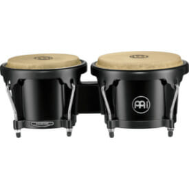 "Meinl Journey Series 6 1/2"" and 7 1/2"" Abs Bongo, Black"