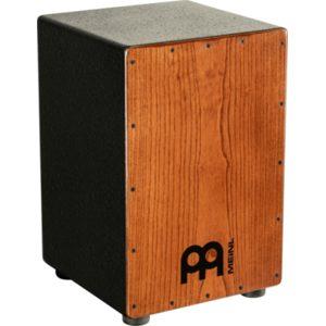 Meinl String Cajon Black, American White Ash Frontplate