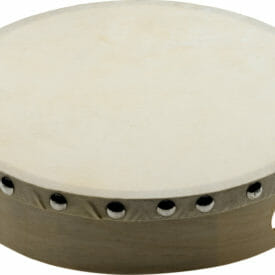 "Stagg 8"" Pre-Tuned Wooden Hand Drum With Rivetted Skin"