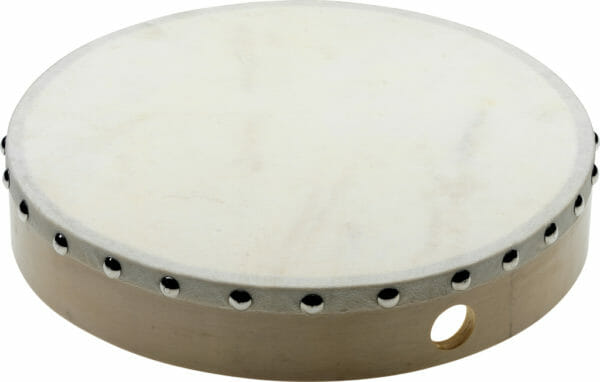 "Stagg 10"" Pre-Tuned Wooden Hand Drum With Rivetted Skin"