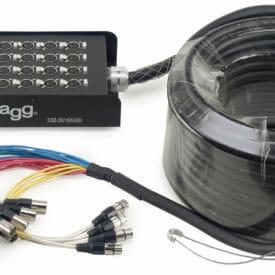 Stagg S-Series Stagebox - 16X Xlr F Inputs/ 4X Xlr M Outputs
