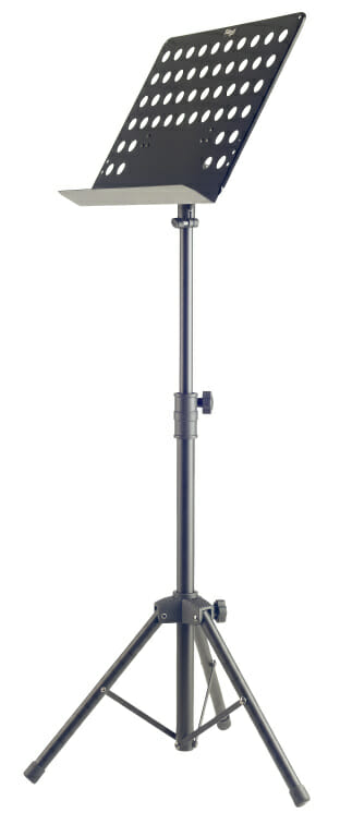 Stagg Basic Orchestral Music Stand W/Metal Music Rest (+Punched Holes)