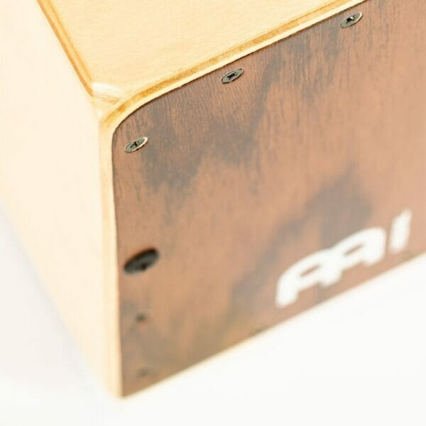 MC1DE Meinl Mini Cajon Dark Eucalyptus Close up