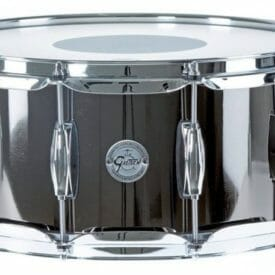 "Gretsch 14 x 6.5"" Black Nickel Over Steel Snare Drum"