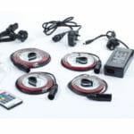 Drumlite Full Kit Single LED Band Drum Kit Lighting System