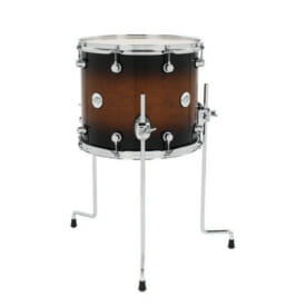 "DW Design Series 14"" x 12"" Floor Tom, Gloss Lacquer, Tobacco Burst"