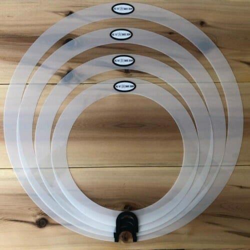 """Big Fat Snare Drum - Studio 4 Pack, 10"""", 12"""", 14"""", 16"""" Round Sound"""
