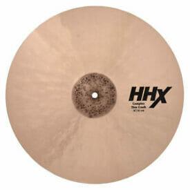 """Sabian HHX Complex 16"""" Thin Crash Cymbal"""