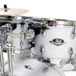 Pearl Export EXX 20″ LA Fusion Drum Kit with Free Drum Stool, Skype Drum Lesson and Sabian SBR Cymbal Pack – Matt White