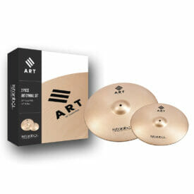 Istanbul Agop Art Mini Set – 14″ Art Hi-Hats, 16″ Art Crash