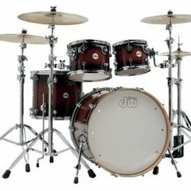 DW Shell set Design Tobacco Burst 22/10/12/16 Without snare