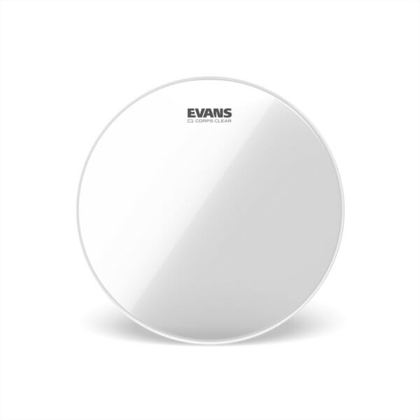Evans Corps Clear Marching Tenor Drum Head, 14 Inch
