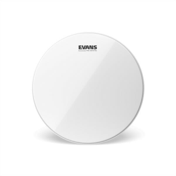 Evans MX White Marching Tenor Drum Head, 14 Inch