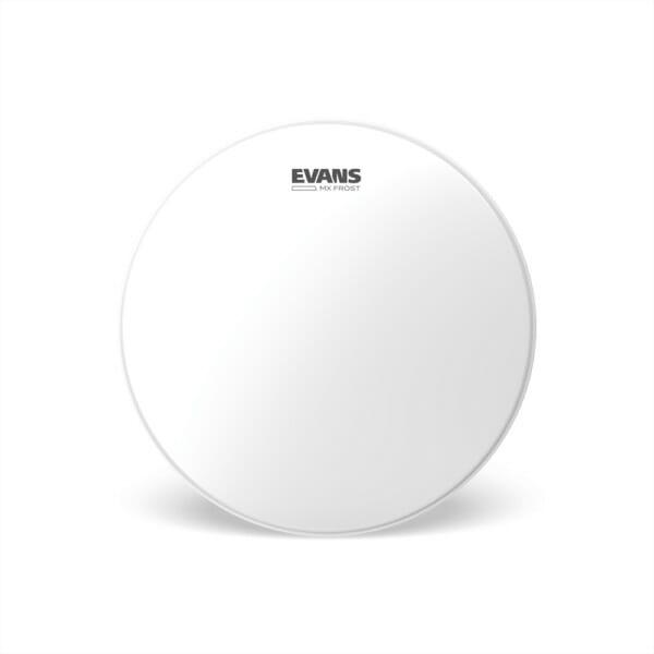 Evans MX Frost Marching Tenor Drum Head, 14 Inch