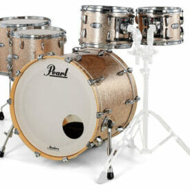 "Pearl Masters Maple 22"" 5-Piece Shell Pack - Champagne Sparkle"