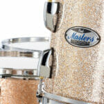 Pearl Masters Maple 22 5-Piece Shell Pack – Champagne Sparkle 4