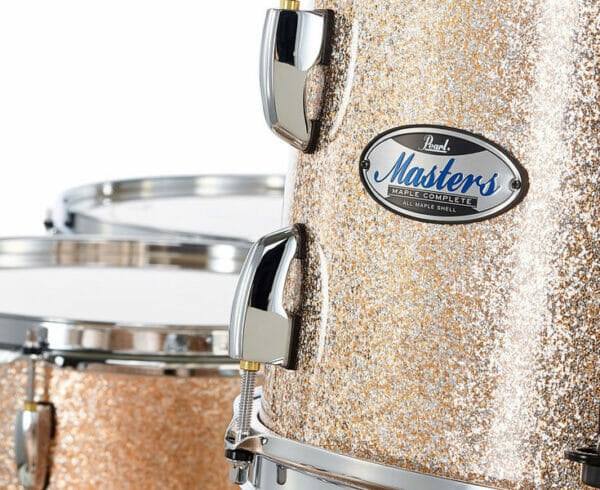 """Pearl Masters Maple 22"""" 5-Piece Shell Pack - Champagne Sparkle"""