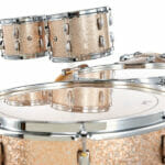 Pearl Masters Maple 22 5-Piece Shell Pack – Champagne Sparkle 2