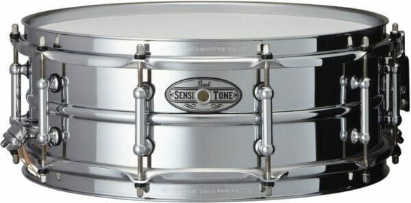 "Pearl Sensitone Beaded Steel 14"" x 5"" Snare"