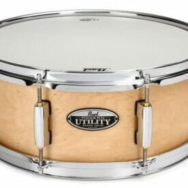 """Pearl 14""""x 6.5"""" Modern Utility Maple Snare Drum Natural"""