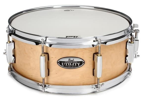 "Pearl 14""x 6.5"" Modern Utility Maple Snare Drum Natural"