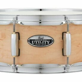 """Pearl 14""""x 5.5"""" Modern Utility Maple Snare Drum Natural"""