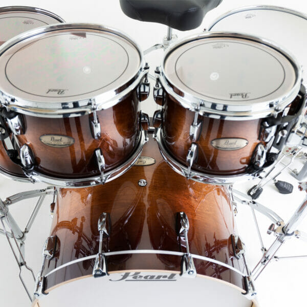 "Pearl Session Studio Select 22"" 4 Piece Shell Pack - Gloss Barnwood"